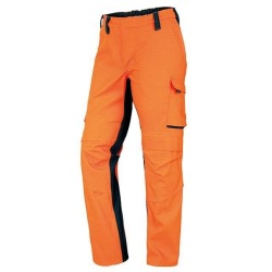 Arbeitshose 2610845-8556 orange-anthrazit